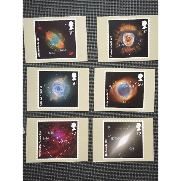 The Sky At Night 2007 - Complete Set Of 6 Mint PHQ Cards No. 295 - uk-cover-lover