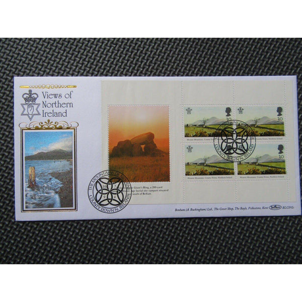 "G.B Benham Cover ""Views Of Northern Ireland"" BLCS 92a 26/07/94 - uk-cover-lover"
