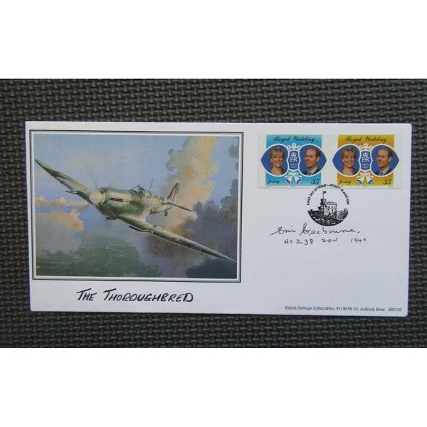 Eric Seabourne No. 238 Squadron Signed Cover - 19/06/99 - uk-cover-lover