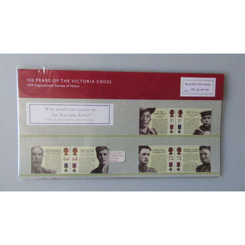 G.B Presentation Pack - 150 Years Of The Victoria Cross - Pk No. 387 21/09/06 - uk-cover-lover