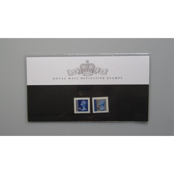 2010 G.B Presentation Pack - Royal Mail Definitive Stamps - Pack 89 26/10/10 - uk-cover-lover