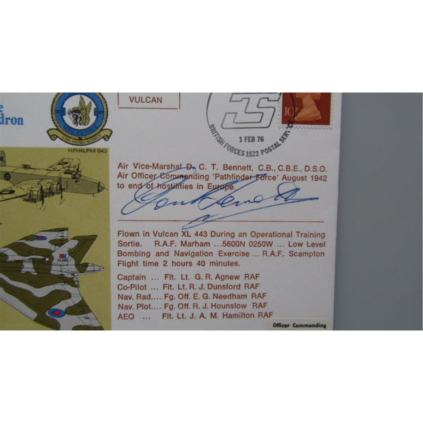 No 35 Squadron - 60th Anniversary of the Formation Of The Squadron Signed Cover - uk-cover-lover