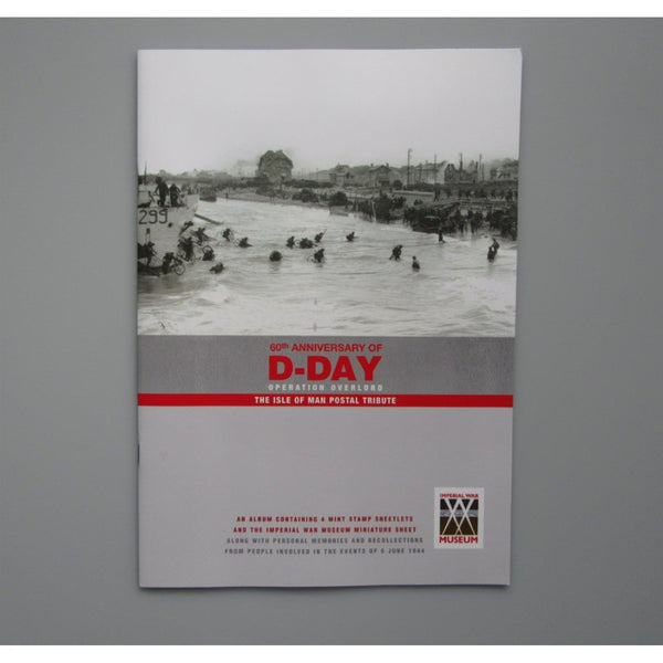 2004 - 60th Anniversary of D-Day Operation Overlord - Isle of Man Postal Tribute - uk-cover-lover