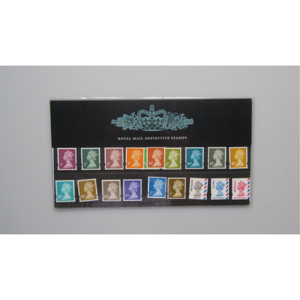 G.B Presentation Pack - 2005 Royal Mail Definitive Stamps - Pack 71