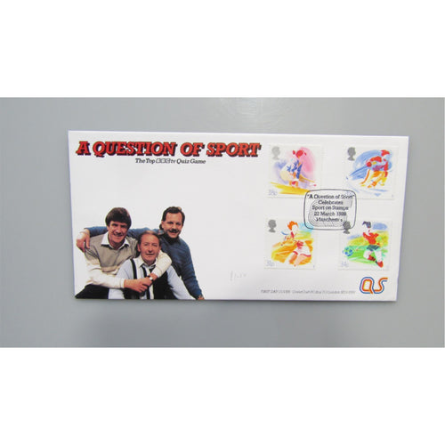 1988 Covercraft G.B First Day Cover - Sport PM A Question Of Sport, Manchester
