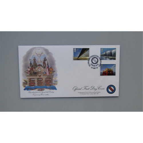 1983 G.B Official AUEW FDC Engineering PM 'Celebrating Engineering Achievements'