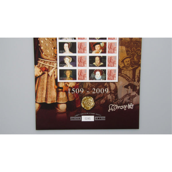 BC-209 Henry VIII 500th Anniversary Of His Accession To The Throne Smilers Sheet