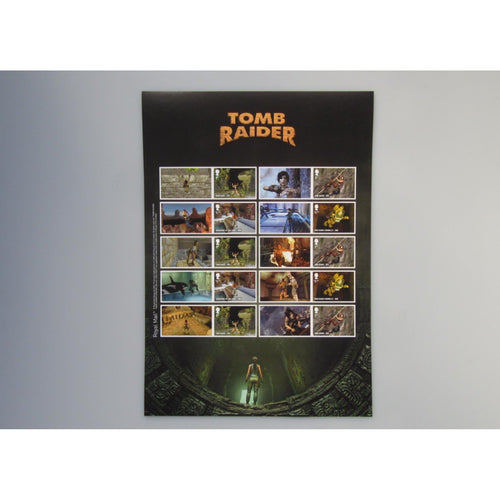 2020 - Tomb Raider The Video Games Collectors Sheet (A4 Size) MNH