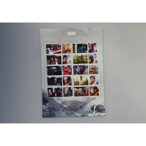 2019 - Star Wars Collectors Sheet (A4 Size) MNH