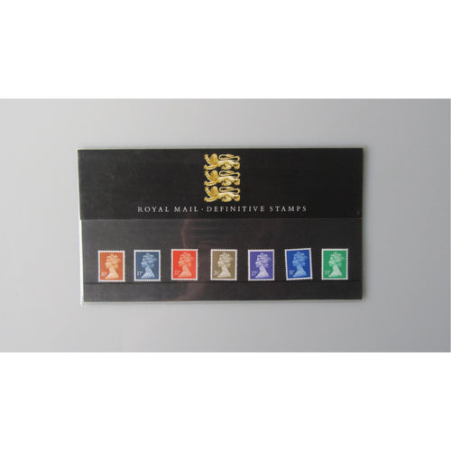 G.B Presentation Pack - Royal Mail Definitive Stamps - Pack 22