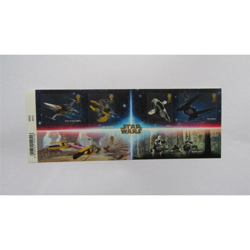 G.B 2019 - Star Wars - Miniature Sheet With Barcode MS4303 MNH