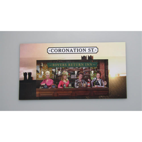 2020 - Coronation Street Miniature Sheet - No Barcode MNH