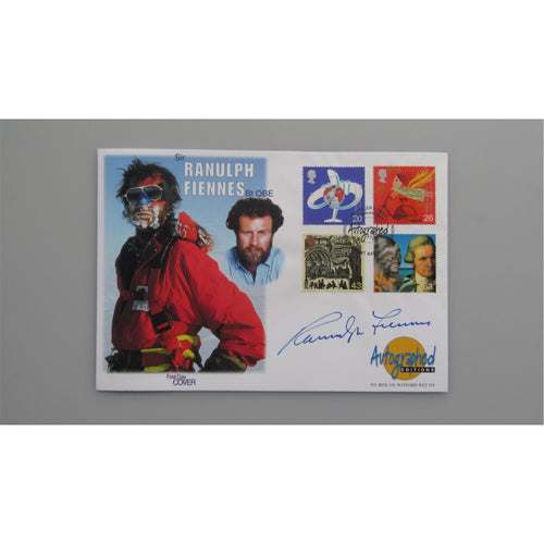 Autographed Editions - Sir Ranulph Fiennes Signed Cover