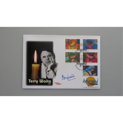 Autographed Editions - Terry Waite Signed Cover