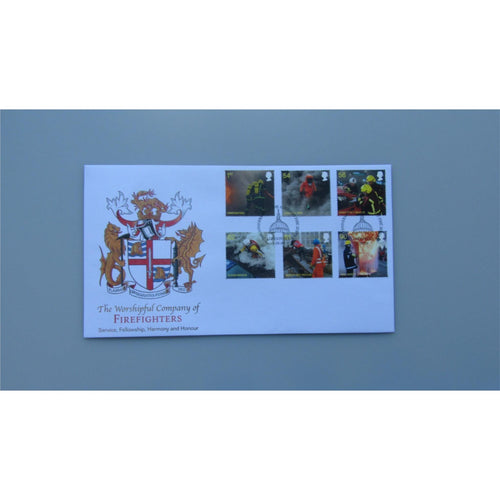 2009 Buckingham Covers First Day Cover - Fire & Rescue PM Auxiliary Fire Service