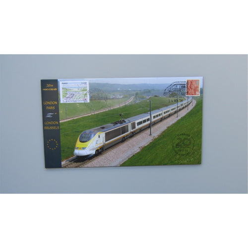2014 Buckingham Covers Commemorative Cover - 20th Anniversary of the Eurostar