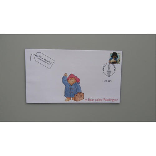 2014 Buckingham Covers Commemorative Cover - Paddington Film Release (Waving)