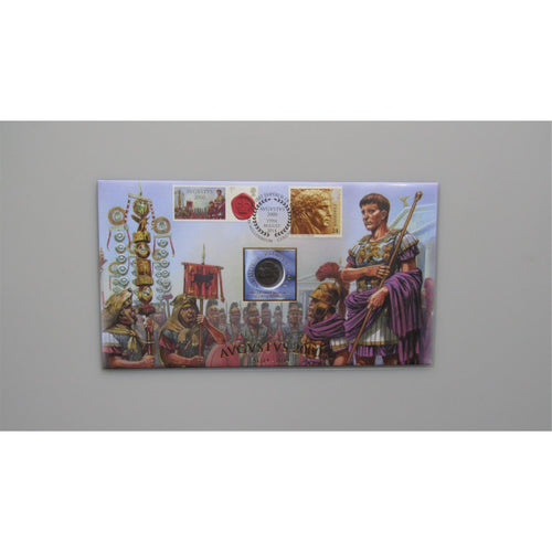 2014 Buckingham Covers - Augustus Roman Coin Cover