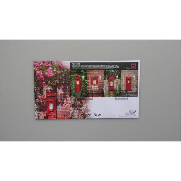 2009 Buckingham Covers FDC - Post Boxes Miniature Sheet
