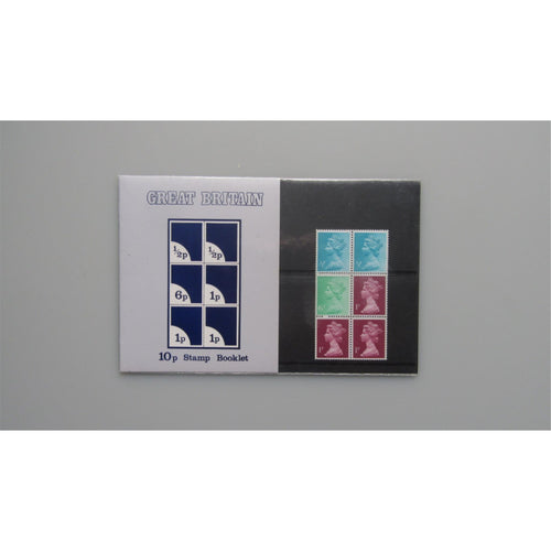 1976 G.B Presentation Pack - 10p Stamp Booklet