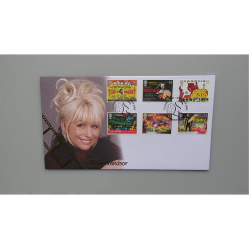2008 Buckingham Covers FDC - Classic Films :- A Tribute To Barbara Windsor