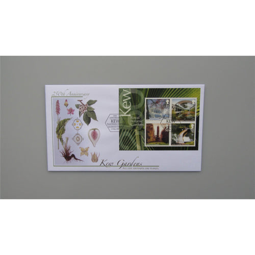2009 Buckingham Covers Miniature Sheet Cover - 250th Anniversary Of Kew Gardens