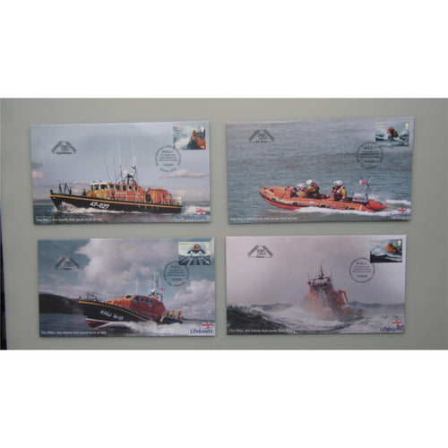 Set Of 4 Buckingham Covers - RNLI Rescue At Sea (All Carried) Limited Edition