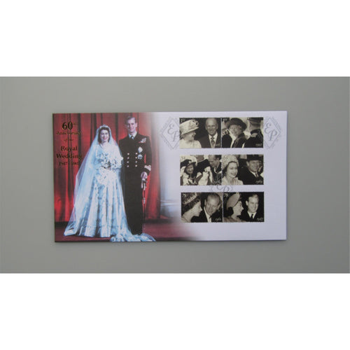 2007 Buckingham Covers FDC - 60th Anniversary of The Royal Wedding 1947 - 2007