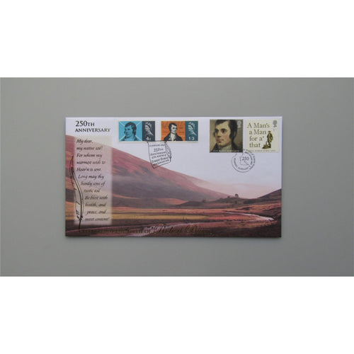 2009 Buckingham Covers - 250th Anniversary of the Birth of Robert Burns