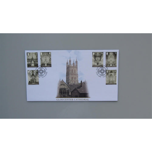 2008 Buckingham Covers First Day Cover - Cathedrals :- Gloucester Cathedral