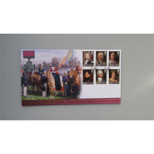 2011 Buckingham Covers FDC Kings & Queens, House of Hanover - The Victoria Cross