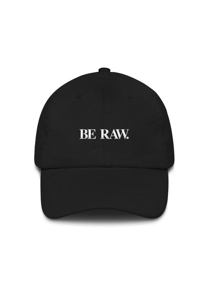 Dad Hat - Be Raw (Simple) Black