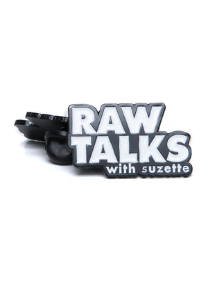 Lapel Pin - RawTalks with Suzette