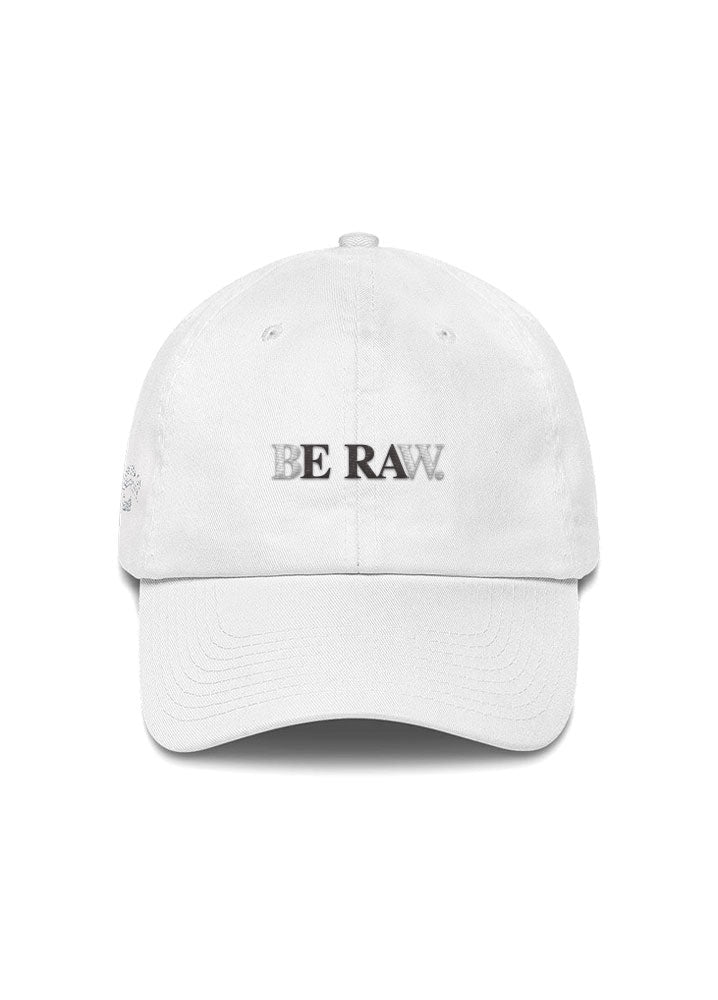 Dad Hat - Be Raw (Signature) White