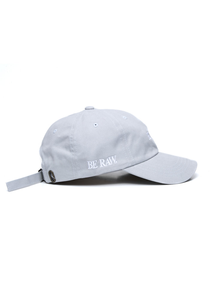 Dad Hat - Be You, Be Raw Grey