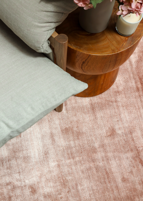 100 Lines Blush - Four Corners Rugs
