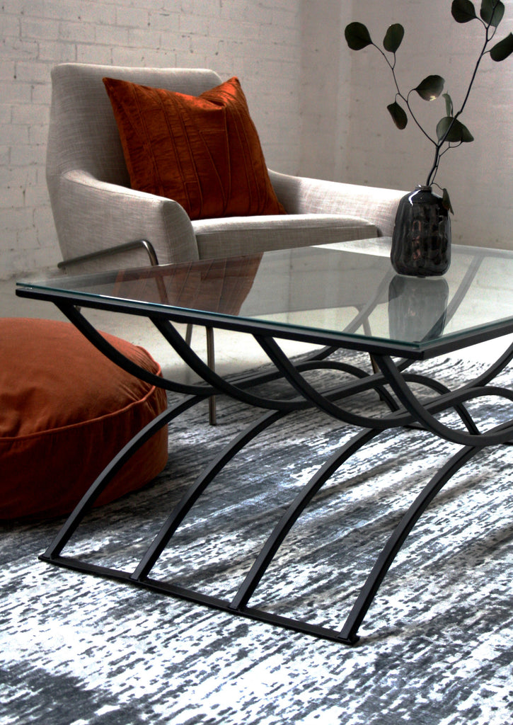 Neo Charcoal - Abstract Modern Rug