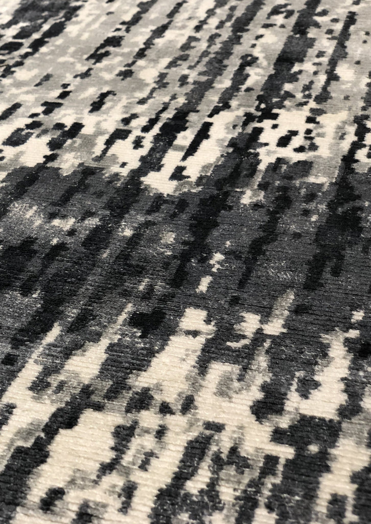 Neo Charcoal - Abstract Modern Rug - Four Corners Rugs
