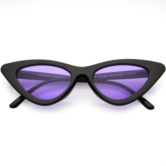 Retro Colored Cat Eye Black