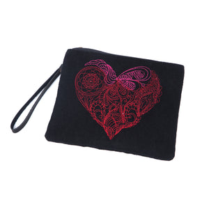 Mendhi Heart Bag