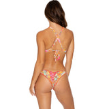 Strappy Brazilian Ruched Back Bottom