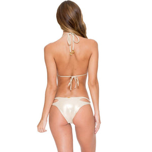 Zig Zag Cut Out Bottom