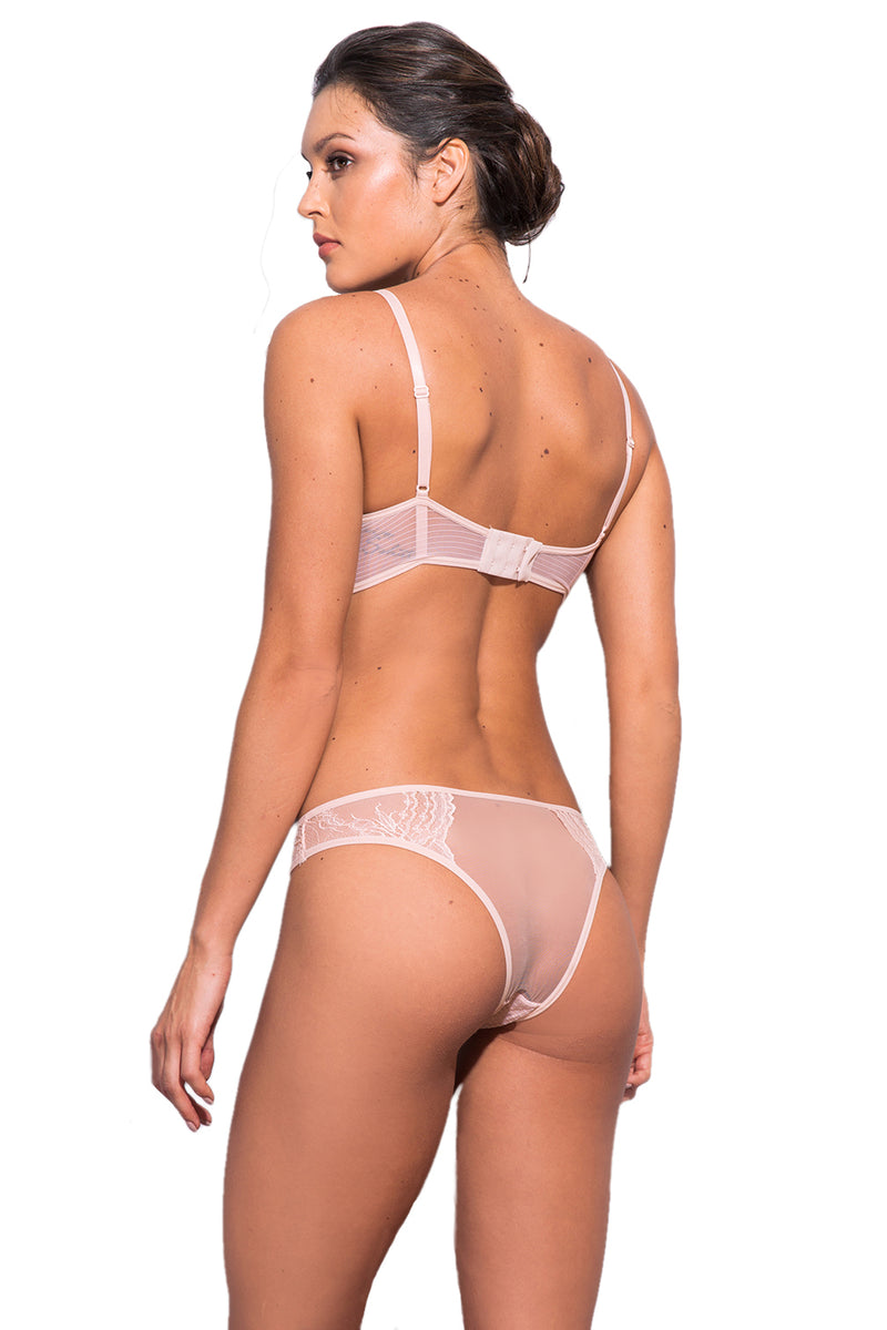 Petunia Lace Tulle Thong