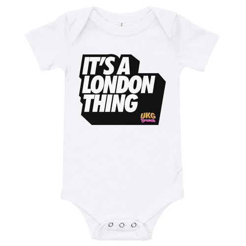 It's a london thing babygrow