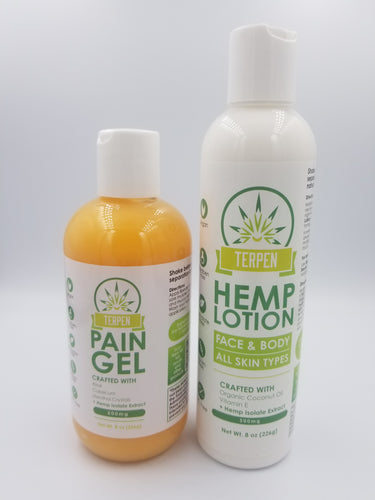 Hemp Lotion & Muscle Gel (BUNDLE DEAL)