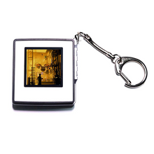Load image into Gallery viewer, NFT Crypto Art Keychain OFF THE BLOCKCHAIN