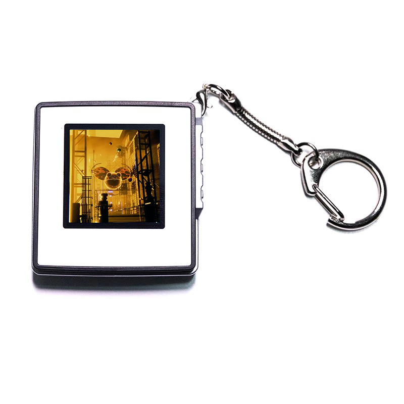 NFT Crypto Art Keychain OFF THE BLOCKCHAIN