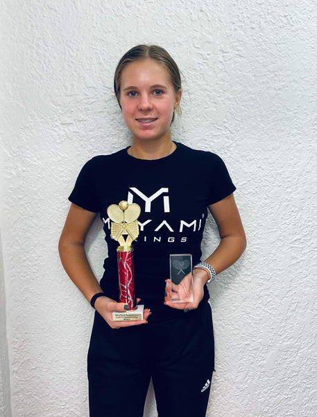 Arina Winner two USTA tennis Tournaments in USA