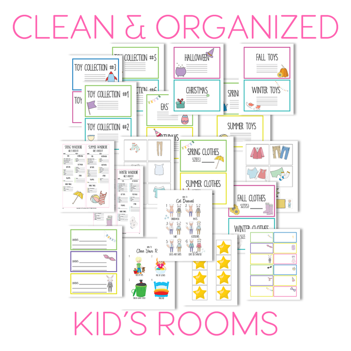 A Clean Room is a Fun Room: 4 Weeks to Get Your Child to Clean Their Own Room and Play More