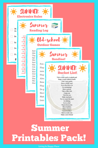 Summer Printables Pack!